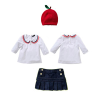 Wholesale Baby Kids Clothing Suit 2 Pcs T Shirt And Skirts Children Summer Autumn Wear 2013 Girls Easter ClothesCS20716-51^^EI