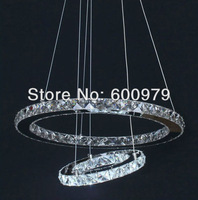 Brief decorative  lighting latest led pendant lamps free shipping D700+500mm