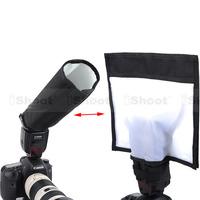 iShoot 25x28cm Plus Version Universal Foldable Reflector/Reflective Speedlight Snoot/Closed Flash Softbox Diffuser