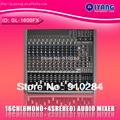 Freeboss MT-7 5 Mono + 1 stereo 7 channels USB Professional DJ Audio Mixer Console with 48V phantom