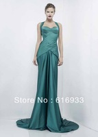 Free Shipping Famous Brand Mermaid Sweetheart Criss Cross Floor Length 2012 Zuhair Murad Evening Dress ZM-3076