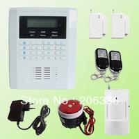 Wireless Intelligent Home Burglar Security Alarm System