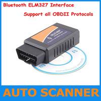 2013 New Version BT ELM327 Bluetooth OBDII V1.5 CAN-BUS Diagnostic Interface Scanner,Bluetooth ELM 327 OBD 2 Scan Tool