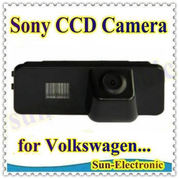 SONY CCD Sensor Car Rear View Reverse Parking CAMERA for Beetle Passat PHAETON SCIROCCO POLO Golf Seat Leon Altea Skoda superb