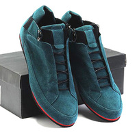 Scrub suede male shoes fashion all-match single shoes 2014 popular shoes