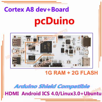 Cortex A8 pcDuino Board , compatible withArduino , 1G RAM 2G Flash Development Board , mini PC HDMI Android Linux Ubuntu