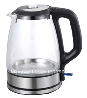 1.7L-1.8L Electric Cordless Tea Kettle with glass body,Noble design and good quality,orignal sources from OEM facotry!