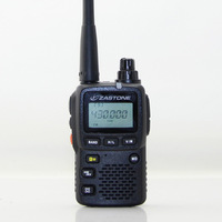 New launch  ZASTONE ZT-2R Ultra-compact dual band (144-146 MHz (TX&RX) & 430-440MHz (TX&RX) walkie talkie free shipping