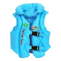 free shipping Swimwear child inflatable swim vest swimwear life vest - Small 150
