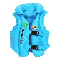 free shipping Swimwear child inflatable swim vest swimwear life vest - Small 150