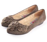 Spring beijing cotton-made shoes women's shoes women's fashion flat pointed toe flat heel comfortable single shoes