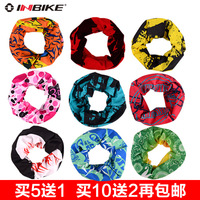 Free Shipping Inbike seamless magic bandanas ride bandanas bicycle bandanas dust mask sweat absorbing