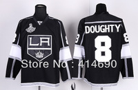 Free Shipping 2013 New Cheap Authentic Los Angeles Kings Ice Hockey Jerseys #8 Drew Doughty Jersey Wholesale Mix Order