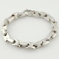 Bracelets for men 2014 1cm*22.5cm silver Stainless Steel Metal Boyfriend Link chain Jewelry Charming, Rocking,Wholesale,VB260