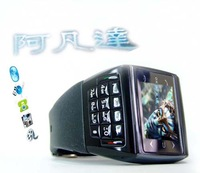 Hot Sale 2013 non smart ultra-thin mini , small mini numeric keyboard et-1 i watch-phone  Free Shipping