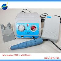 45000 rpm Marathon 110v / 220v S-SMT Micromotor SDE-SH37L Brush Handpiece for Jewelry, Technic, Electron Polishing, Carving