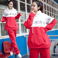 2013 maternity clothing spring and autumn maternity set maternity nursing clothes women twinset lounge suit