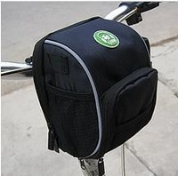 2012 Mini Black Cycling Bike Bicycle Handlebar Bag front basket with Rain Cover