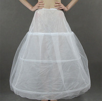 2014 Wedding Panniers Bride Slip Formal Dress White Wedding Accessories Additional Petticoats Threefolded Hard Network