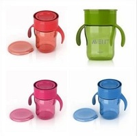 Free Shipping New AVENT Baby Water Bottle 360 Degree Rotation  AVENT Toddler Natural Drinking Cup Baby Water Bottle 9oz/260ml