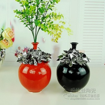 Free Shipping 10 Pcs/Lot Ceramic small flower receptacle modern home decoration wedding gifts new house accessories crafts