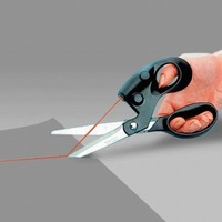 Retail Sewing Fabric Laser Scissors Laser Guided Scissors Cut Straight Fast Accuracy Wih Battery China Post Free Shipping