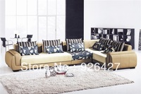 Genuine Leather fashion  living room sofa,office sofa 8812