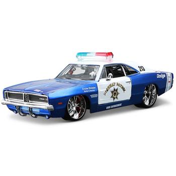 Dodge charger model alloy police car
