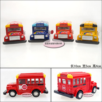 Kinsmart baby school bus baby WARRIOR alloy car model