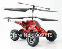 free shipping U821 as one multi-purpose vehicles flying helicopters fired missiles remote driving on land 3.5ch rc helicopter