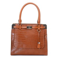 New Sale Blake Crocodile-Embossed Satchels Luggage for Women