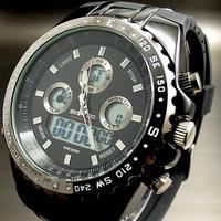 New Men's Sports Watch LED Display Chrongrap Waterproof Wristwatch Free Shipping Night Light Stop Watch Wholesales Clock Cool