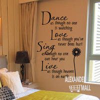 2013 cheap fashion nursery kids bedroom girl wall paper wall decoration decals stickers quotes mural nursery wall decals