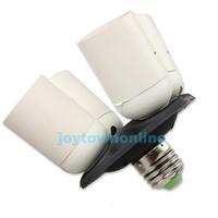 4 in 1 E27 Base Light Lamp Bulb Socket Splitter Adapter Studio Photography #1JT