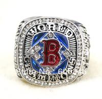 2004 Boston Red Sox MLB replica championship ring,rhodium plated,free shipping