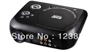 Mini Portable Multimedia LED Projector Home Theater DVD USB SD Speaker