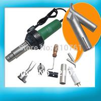 Hot Air Torch Plastic Welding Gun Welder Pistol 1500W+ Speed Nozzle +roller Heating power adjustable from 80-1500W