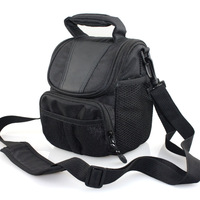 2014 Camera Case Bag For Nikon DSLR D7100 D7000 D5300 D5200 D5100 D3200 D3100 D3300  D90 J1 J2 J3 V1 V2 L830 L330 P600 P530 P520