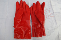 2014 Rushed Kitchen Gloves Home And Garden Store East Asian Aquarium 802 Cotton Felt Household Gloves Waterproof Long 29cm A0717