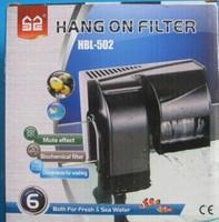 Sensen hbl-502 mute wall-mounted aquarium biochemical aquarium filter belt of activated carbon