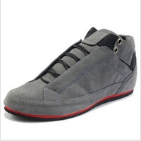 Free shipping All-match scrub shoes fashion male casual shoes the trend of fashion leather male shoes single shoes
