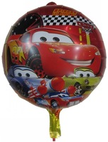 "50 PCS 18""  Car Helium balloons  Kids birthday party supplies Inflatable toys gifts for children games"