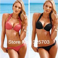 Cheap wholesale, 2013 new fashion elegant female bind type bikini/swimsuit beach/gift/free shipping