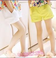 2013 summer female child chiffon shorts female child summer trousers