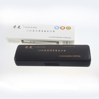 free shipping 34.7m 24 senior the accent harmonica new arrival 34.7m harmonica playing excellent