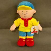 Large Size 12inch Caillou Plush Soft Stuffed Cartoon Figure Doll Kids Toys Christmas Gift