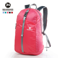 Free Shipping Ultra-light double-shoulder folding travel bag mountaineering bag ride satanisms bag