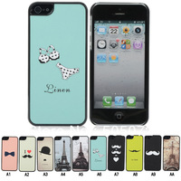 10PCS Classic Vintage Hard Case Cover Skin fit for iPhone 5 5G CM514