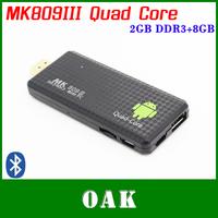 MK809III Quad Core Android 4.2 TV Box/Mini PC RK3188 2GB DDR3+8GB Flash Nand HDMI/WiFi/Bluetooth