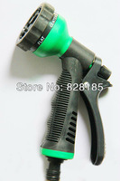 FedEx Free Shipping  Wholesales  200pcs/lot  Garden Hose Sprayer Nozzle With Connector 6-Way Hose Nozzle